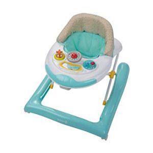 Ce trotteur bébé Safety first convient aux bébés de 6 mois et plus.