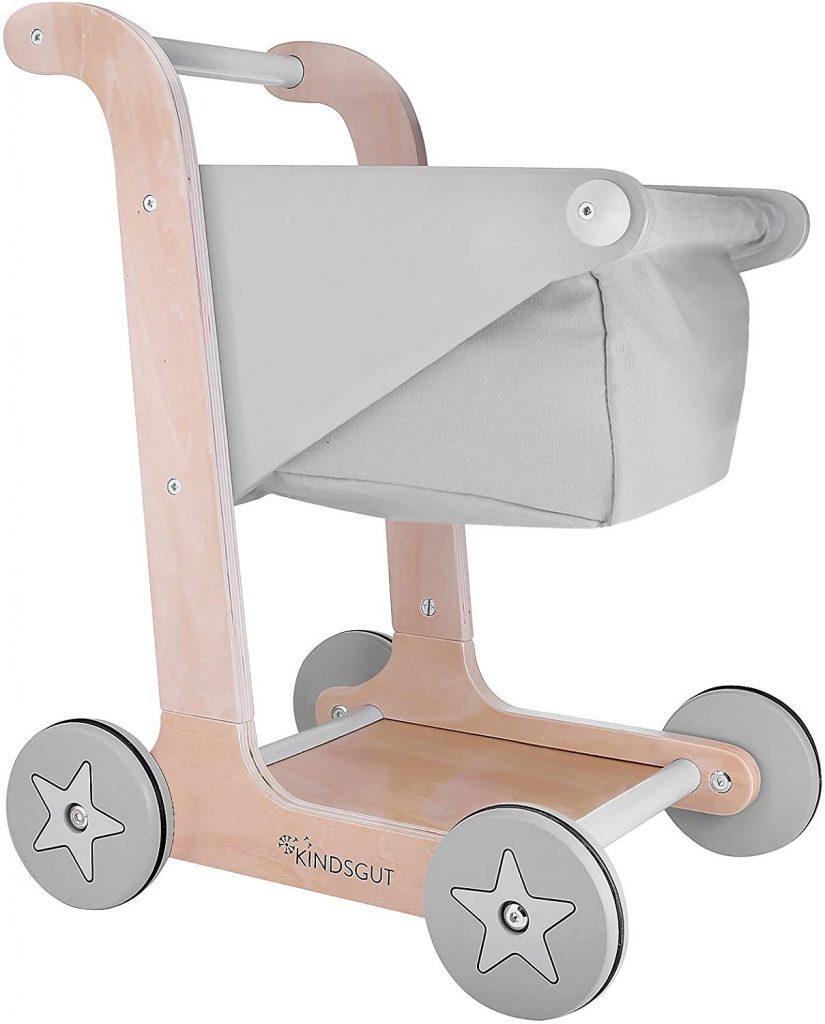 Le pousseur trotteur caddie Kindsgut est disponible en plusieurs coloris.