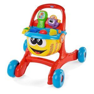 Ce trotteur pousseur Chicco est un chariot pour aider votre enfant à marcher.