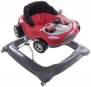 Ce trotteur voiture est conçu pour les enfants dés 6 mois.