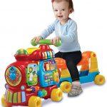 Le porteur pour enfant Maxi Trotti Loco propose 5 activités en 1 seul jouet !