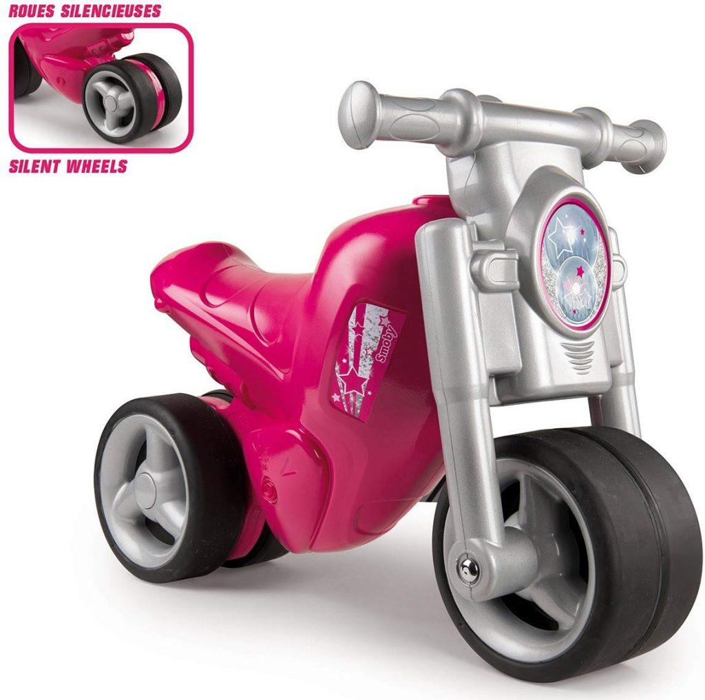 Ce porteur moto Smoby existe en plusieurs coloris.