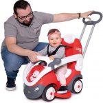 Le porteur Smoby Scooter convient aux bébés de 18 mois et plus.